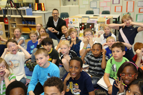 kids in diverse classroom by U.S. Army Corps of Engineers